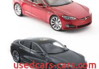Tesla Diecast Beautiful New Tesla Diecast 118 Scale Model S P100d toy Display Car