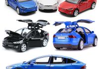Tesla Diecast Beautiful Tesla Model X 90d Suv Diecast Model Car Pull Back Vehicle