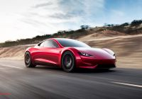 Tesla Electric Car Beautiful New Tesla Roadster Ushers In New Age Of Performance Cars