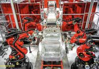 Tesla Factory Beautiful Tesla Factory Racing to Retool for New Models La Times