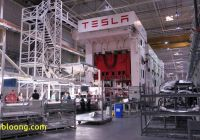 Tesla Factory Elegant Tesla Expects 10 Day Production Shutdown In Q2 to Focus On