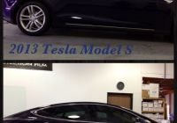 Tesla Gold Best Of 2013 Tesla Model S Golden State Auto Care™ Added Suntek