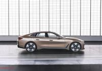 Tesla Gold Elegant Bmw I4 Will Be Most Powerful 4 Series and It Should Be