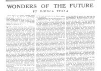 "Tesla High Frequency Current Unique the Tesla Collection"" ""wonders the Future"" Colliers"