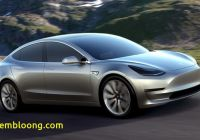 Tesla Hybrid Fresh Tesla Model 3 Has Arrived Exceeds Expectations Autotribute