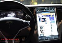 Tesla Like Screen Beautiful Tesla Model S 17 Inch Screen Pictures and Hands On