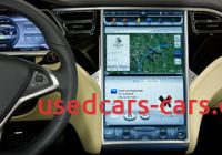 Tesla Like Screen Best Of Driving the Tesla Model S is Like Using An Ipad Thanks to
