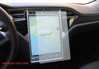 Tesla Like Screen Inspirational Custom Clear Screen Protector for Tesla Model S touch