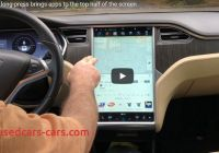 Tesla Like Screen New How to Bring Tesla Apps to the top Of the Screen with Long