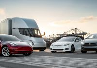 Tesla Lineup Unique Tesla Removes Full Self Driving Capability Option From