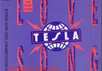 Tesla Love song Inspirational Tesla Love song German Cd Single Cd5 5 549406