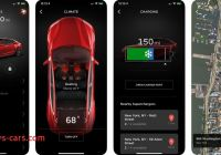 Tesla Mobil Beautiful Tesla Releases A Mobile App Update with New Charging