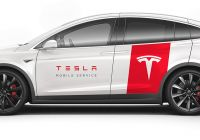 Tesla Mobil New Tesla Mobile Service to Deploy Model X for Bigger On