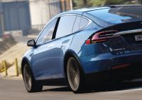 Tesla Mod Elegant Tesla Model X P90d 2016 Add On Replacewipersspoiler
