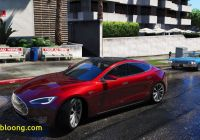 Tesla Mod Lovely Gta 5 Mods Tesla Model S Youtube