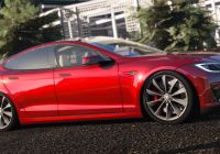 Tesla Mod Unique 2016 Tesla Model S P90d Gta5 Mods Com