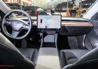 Tesla Model 3 New Tesla Model 3 Interior is A Gamechanger Pictures
