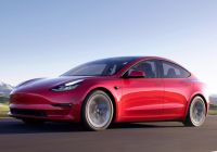 Tesla Model Model 3 Beautiful Tesla Officially Launches Model 3 2021 Refresh with More