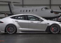 Tesla Model S Body Kit Awesome It S A Tesla Model S with A Carbon Widebody Kit