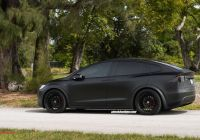 Tesla Model X Black Best Of Check Out This Matte Black Tesla Model X with Hre S209 Wheels