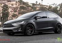 Tesla Model X Luxury Tesla Model X Fully Customized with Paint Protection Film