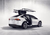Tesla Model X Side View Luxury Ly Tesla Model X Owners Know About these Features