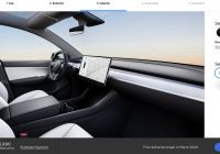 Tesla Model Y Seats Awesome Tesla S Ready to Deliver Model Y Adds New Configuration