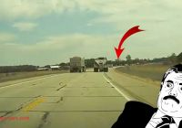 Tesla Near Miss Lovely Teslacam Registers Truck Near Miss that Could Have Caused