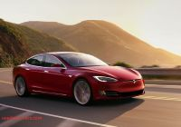 Tesla New Car Luxury the New Tesla Model S P100d is Faster Than All these Cars