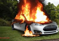 Tesla On Fire Beautiful Burning My Tesla Model S On Purpose Youtube