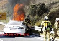 Tesla On Fire Best Of Tesla Model S Electric Car Catches Fire after Crashing