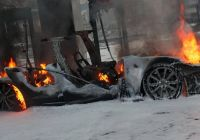 Tesla On Fire Lovely Tesla Model S Caught Fire and Burned Down while Charging