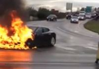 Tesla On Fire Lovely Three Tesla Fires In Six Weeks Raise Doubts About Elon