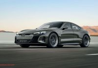 Tesla or Audi Fresh the Audi E Tron Gt Concept is Here to Scare Tesla