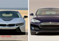 Tesla or Bmw Luxury Bmw I8 Takes On the Tesla Model S while Stretched Model S