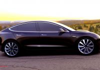 Tesla or Hybrid Lovely 2017 Tesla Model 3 Electric Car Unveiled Consumer Reports