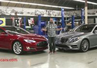 Tesla or Mercedes Awesome Tesla Model S and Mercedes Benz S550 Face Off On Head 2 Head