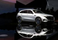 Tesla or Mercedes Inspirational Mercedes Unveils Electric Car In Direct German Challenge