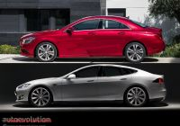 Tesla or Mercedes New Mercedes Benz Cla Drag Coefficient Allegedly Bested by