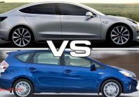 Tesla or Prius Beautiful Tesla Model 3 Vs toyota Prius Youtube