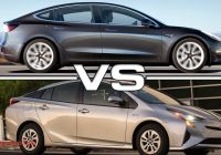 Tesla or Prius Lovely 2018 Tesla Model 3 Vs 2017 toyota Prius Youtube