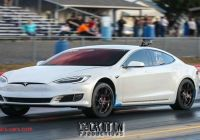 Tesla P100d Awesome Muscle Cars Struggle to Take Down Tesla P100d at the