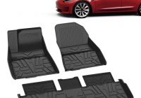 Tesla Payment Plan Elegant Clearance Sale】all Weather Floor Mats for Model 3 Durable