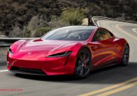 Tesla Roadster 2020 Unique Elon Musk Claims the Tesla Roadster Will Be Able to Fly