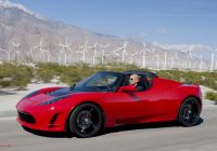 Tesla Roadster Acceleration New Tesla Roadster First Generation
