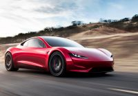 Tesla Roadster top Speed Awesome Tesla Roadster Electric Supercar Races to A top Speed Over