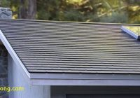Tesla Roof Elegant Tesla solar Roof Elon Musk Reveals Version 3 Production