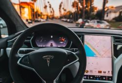 Luxury Tesla Share Price