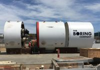 Tesla Shuttle Beautiful Here S Our First Glimpse Of Elon Musk S Tunnel Boring