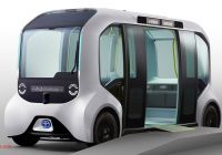 Tesla Shuttle Luxury toyota E Palette Updated for Use at the 2020 tokyo Olympic